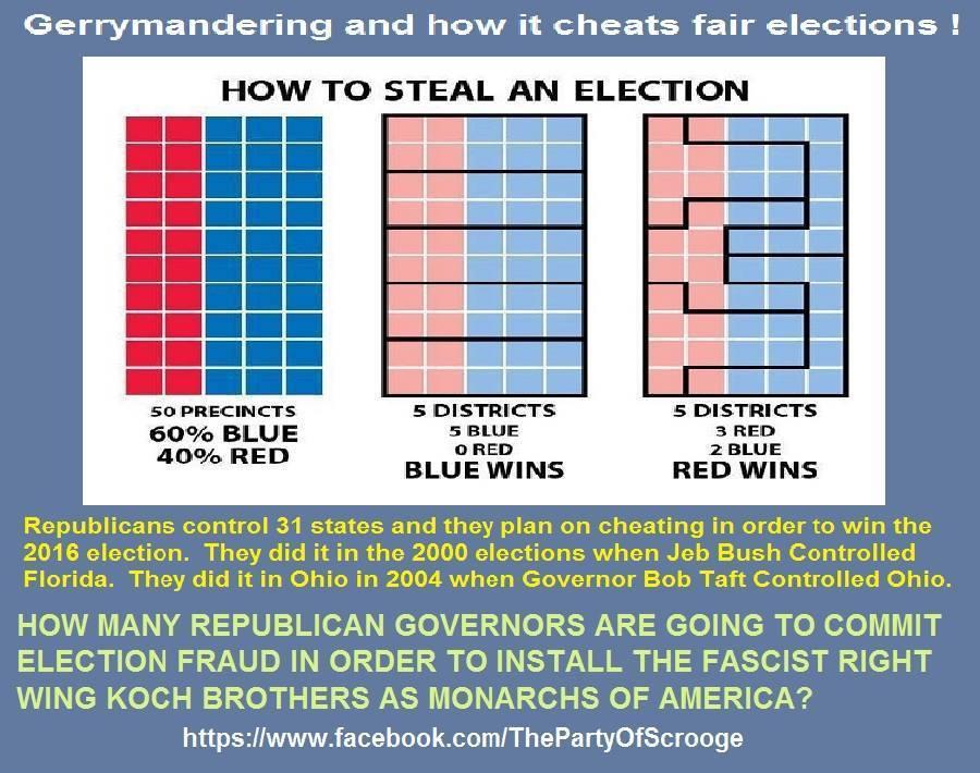 Gerrymandering and How it Cheats Fair Elections
