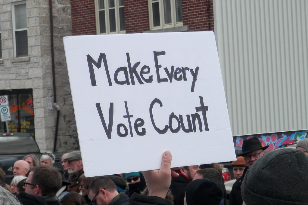 Make Every Vote Count!