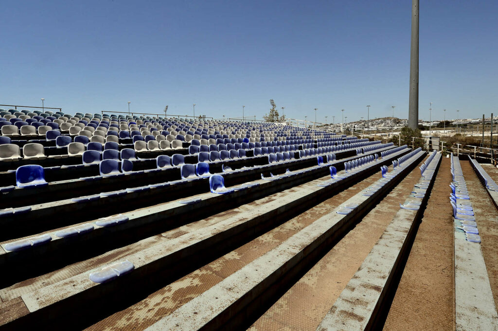 Baseball Stadium from the 2004 Olympics in Athens, Greece